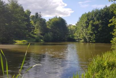 étang de pêche privée camping le lyzeron