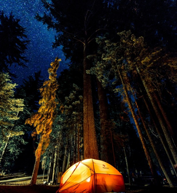 nuit en tente camping lamure sur azergues